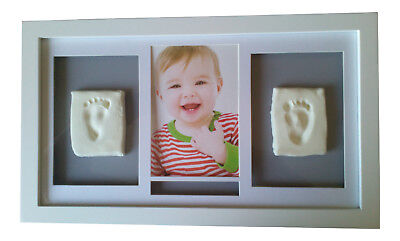 DIY Baby Boy or Girl hand and foot print casting frame kit Large)
