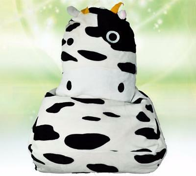 Cow Black & White LARGE SIZE Bean Bag Sofa Cover Chair Adult Baby Children