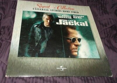 The Jackal Laserdisc Vgc Widescreen Edition Gatefold  2 Disc Set Laser Disc