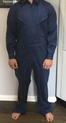 Heavy Duty Coveralls size 85-90L work wear safety Mechanic Boiler FREE POSTAGE