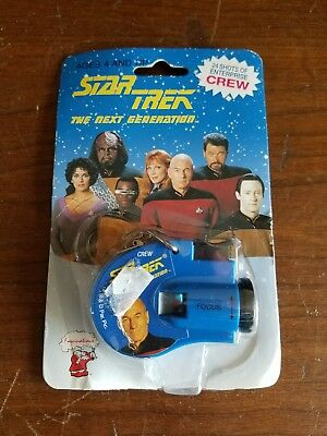 STAR TREK Next Generation Key Chain Click Viewer 1993 New in Package