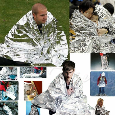 Waterproof Outdoor First Aid Rescue Blanket Emergency Survival Foil Thermal 1Pc