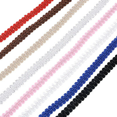 5M Centipede Braid Lace Ribbon Trim Sewing Multiple Color DIY Craft For Clothes