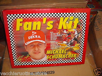 Polistil Michael Schumacher des Ventilators Kit Hut DEKRA Flagge