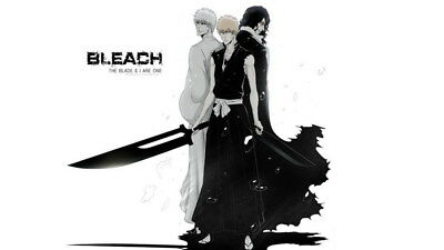 "153 Bleach - Dead Rukia Ichigo Fight Japan Anime 24""x14"" Poster"