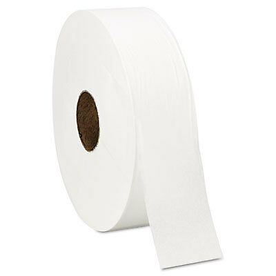 "Super Jumbo Roll One-Ply Bath Tissue, 12"" dia, 4000ft, 6 Rolls/Carton 201"