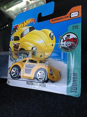 Mattel Hot Wheels Hw Tooned 1/64 Vw Volkswagen Beetle Maikäfer Kafer Fusca