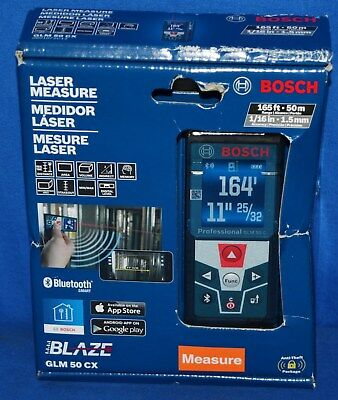 BOSCH GLM 50 CX 165 ft. Laser Measure Bluetooth