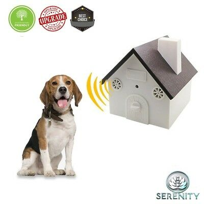 Serenity New Upgrade Model Ultrasonic Bark Control Device - Anti-Barking Trainin