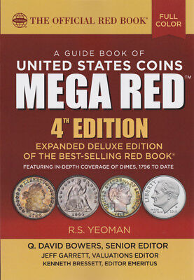 WHITMAN - 2019 RED BOOK MEGA DELUXE 4th ED - NEW - WH-REDMEGA19