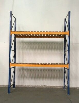Pallet racking, Industrial warehouse racking, 1000 bays available. £188.00 + vat