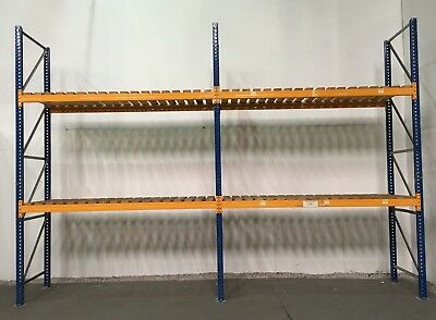 Pallet racking, Industrial warehouse racking, 1000 bays available. £336.00 + vat