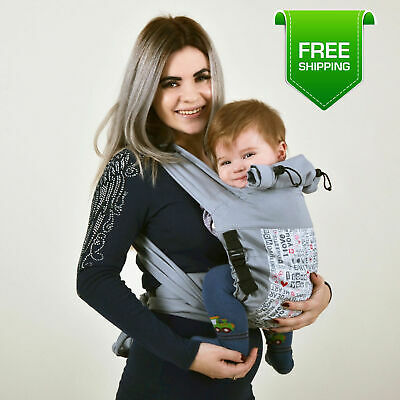 9b2a0a39719 ADJUSTABLE MEI TAI Baby Carrier Loving Hearts -  53.00