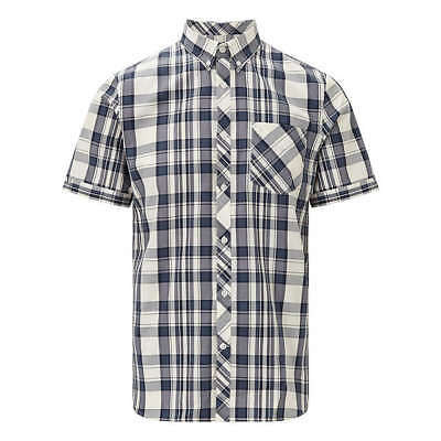 Fred Perry Bold Check Shirt,Ombre Blue,M3532, New for 2018,Mod,Soul,Ska,Scooter