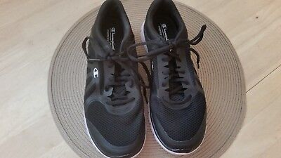 7afd7c79544da CHAMPION WOMEN S BLACK Memory Foam Sneakers Shoes Size 9 M EU 41 1 2 ...