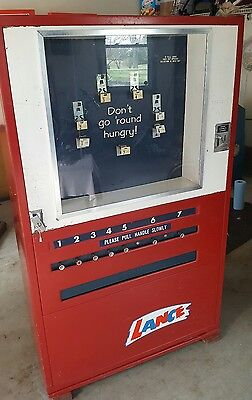 Lance U-Select Vintage Mechanical Vending Machine Man Cave Collectible