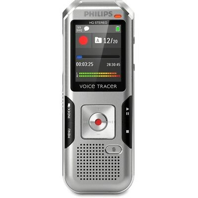 Philips DVT4010 Voice Tracer With Auto Adjust Recording
