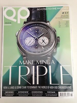 QP Watch Magazine - Devoted to Fine Watches - Issue 85 April 2018 BRAND NEW!