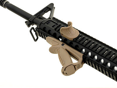 Ergonomic Grip mit Thumb Stop - Airsoft Softair Frontgriff Front Grip
