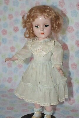 """Vintage Early 14"""" Sweet Sue Strung Doll All Original"""