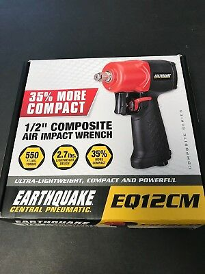 """EARTHQUAKE 1/2"""" Composite Air Impact Wrench EQ12CM BRAND NEW WITH FREE SHIPPING"""