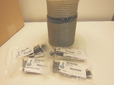 Chromalox 82' 392235 Constant Wattage temp cable + 4-pack 389570 end seal kits