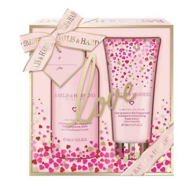 Baylis and Harding Rose Prosecco Fizz 2 Piece Gift Set