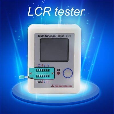 LCR-TC1 TFT Screen Display Multi-functional TFT Backlight Transistor Tester YUE