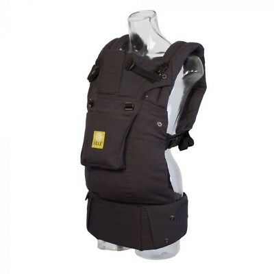 Lillebaby carrier Airflow w Pocket - Charcoal Black