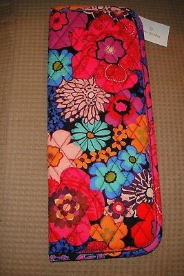 "Vera Bradley Curling & Flat Iron Cover ""floral Fiesta"" Nwt! Retails For $25"