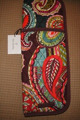 "Vera Bradley Iconic Curling & Flat Iron Cover "" Heirloom Paisley"" New Pat..$24"
