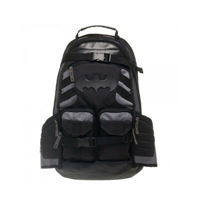 DC Comic Batman Logo Black Shoulder Bags Student Black Travel Laptop Backpack