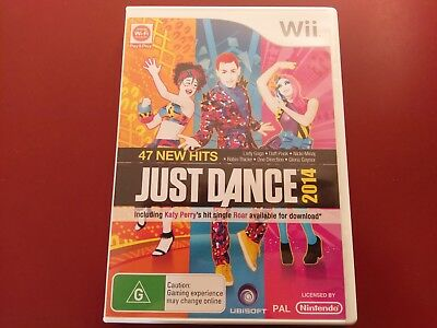 Just Dance 2014 Nintendo Wii Game Complete - Free Post