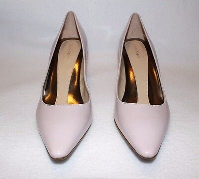 346362c3cb0 NEW  220 Calvin Klein Gayle Pink Patent Leather Pumps Heels Women Shoes 6.5