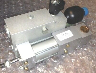 Milwaukee Cylinder hydraforce variable speed hydraulic damper valve block.