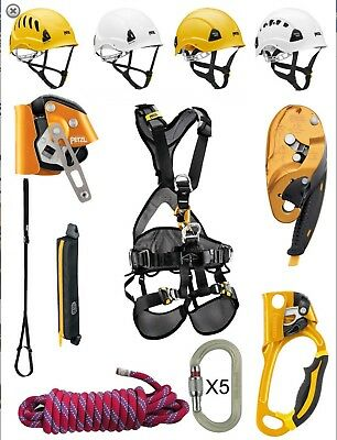 PETZL Rope Access Equipment KIT - BRAND NEW