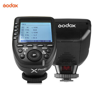 Godox Xpro-C E-TTL II Flash Trigger Transmitter 2.4G Wireless X System 32 P2L8