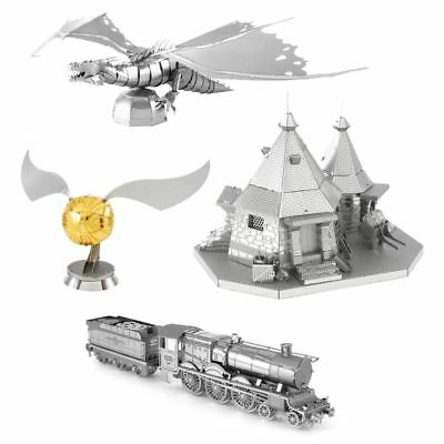 Harry Potter 3D Metal Puzzle Model DIY Laser Cut Toys Model Kits For Collection