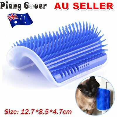 Massager Pet Cat Comb Brush Wall Corner  Device Dog Cat Hair Removal Brush Comb