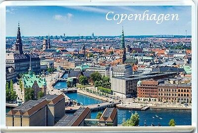 Copenhagen Fridge Magnet-3