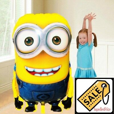 Balloon Large Size Foil Cartoon Minions Inflatable Birthday Party Decoration