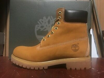 New Mens Timberland 6 Inch Boot Wheat Nubuck Cl Ic D Width  15