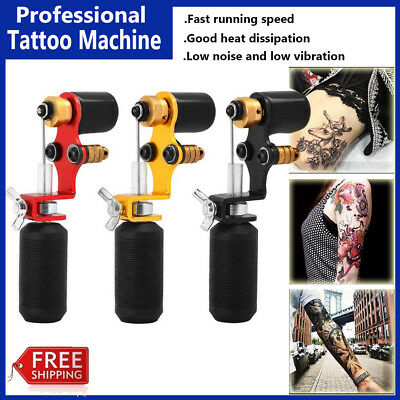Pro Rotary Tattoo Machine Shader High Speed Rotation Low Noise Tattoo Motor Art