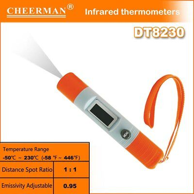 Non Contact Thermometer Creative Pen Style Infrared Temperature Meter DT8230 MC