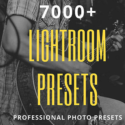 7000+ Professional Lightroom Presets  (Email Deivery)