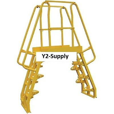 NEW! Alternating Step Cross-Over Ladders-7 Step-COLA-4-68-56!!
