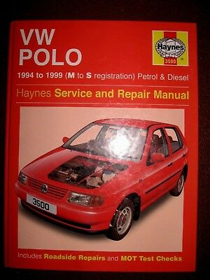 vw polo haynes workshop manual 1994 1999 7 99 picclick uk rh picclick co uk VW Polo 2000 VW Polo 1998