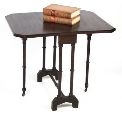 Antique Victorian Oak Sutherland Drop Leaf Table - FREE Shipping [PL3928]