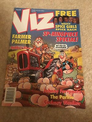 Viz Magazine Issue 82 UK Comic - 1997 Feb/Mar Adults Only And Hilarious Fun