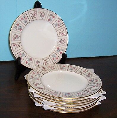 """Lot Of 4 Minton Tapestry Salad Plates 7 5/8""""  Never Used Free U S Shipping"""
